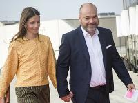 Dánsky miliardár Anders Holch-Povlsen a jeho manželka Anne Holchová-Povlsenová