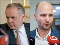 Andrej Kiska a Gábor Grendel