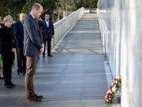 Princ William na návšteve mesta Christchurch.