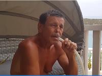 Ondrej Žemba si užíval chvíle voľna v Chorvátsku.