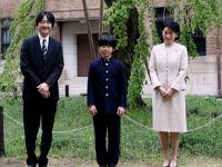 Cisársky vnuk s rodičmi