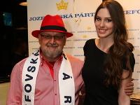 Jozef Oklamčák s bývalou miss Laurou Longauerovou