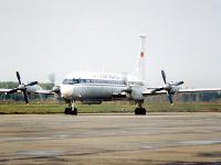 Ruské lietadlo typu IL 18