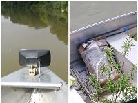 Plávajúci balík pri hranici s Ukrajinou ukrýval tisícky cigariet.