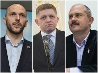 Michal Truban, Robert Fico a Marian Kotleba