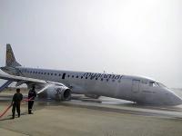 Lietadlo mjanmarskej leteckej spoločnosti muselo núdzovo pristáť