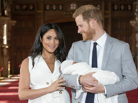 Meghan Markle a princ Harry so synom Archiem