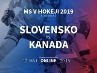 MS v hokeji: Slovensko - Kanada