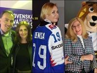 Ministerky rezortov takisto fandia hokeju