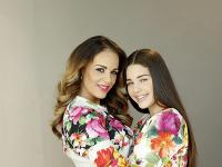 Karin Haydu so svojou dcérou