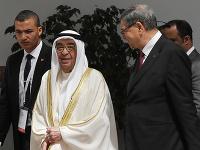 Bahrajnský vicepremiér šejk Mohammad bin Mubarak al-Khalifa