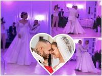 Jasmina Alagič a Patrik Rytmus Vrbovskí mali rozprávkovú svadbu.
