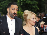 Pamela Anderson a Adil Rami
