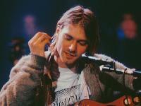 Spevák Kurt Cobain