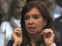 Cristina Fernándezová Kirchnerová počas dnešného súdneho pojednávania
