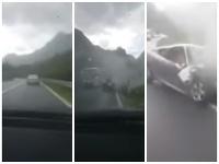 K nehode došlo na ceste medzi Jablanicou a Mostarom.