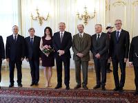 Slovenskí europoslanci s prezidentom Kiskom