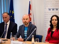 Kandidáti na europoslancov Eugen Jurzyca, Vladimír Bilčík a Miriam Lexmann