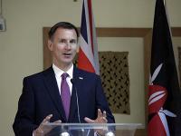Britský minister zahraničných vecí Jeremy Hunt