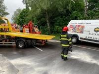 Vážna dopravná nehoda v smere od Martina do Žiliny.