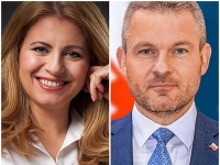 Zuzana Čaputová a Peter Pellegrini.