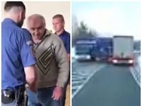 Český kamionista riskantne predbiehal na ceste B12 v bavorsko-českom pohraničí.