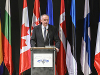 Andrej Kiska v príhovore počas zasadnutia Parlamentného zhromaždenia NATO