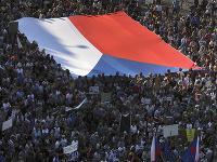 Protesty v Prahe