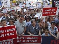 Protesty proti Andrejovi Babišovi