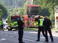 explózia vo švédskom meste Linköping