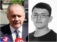 Andrej Kiska a Ján Kuciak