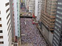 Demonštrácie proti navrhovaným zmenám zákona o vydávaní obvinených občanov do Číny