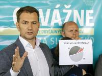 Igor Matovič predstavil novú platformu OĽaNO