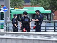 Policajti na mieste činu