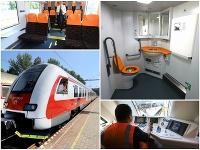 Nové vybavenie vo vlakoch