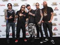 Členovia heavymetalovej skupiny Five Finger Death Punch