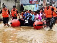 Záplavy v Číne