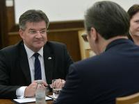Úradujúci predseda Organizácie pre bezpecnost a spoluprácu v Európe (OBSE) Miroslav Lajčák