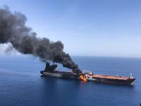 Útok na tankery v Ománskom zálive