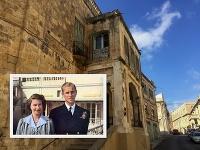 Alžbeta II a princ Philip v časoch, keď žili na Malte.