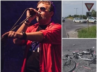 Líder kapely Dr. Zetor sa stal obeťou dopravnej nehody.