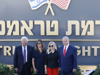 Benjamin Netanjahu a americký veľvyslanec David Friedman