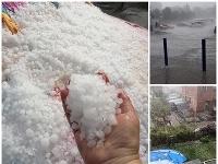Nepriaznivé počasie zasiahlo hlavne severovýchodné a východné Slovensko.