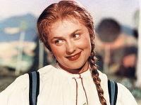 Eva Klepáčová ako Káča vo filme Hrátky s čertem