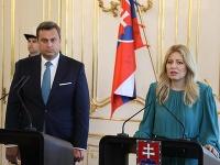 Zuzana Čaputová a Andrej Danko