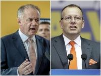 Andrej Kiska a Boris Kollár