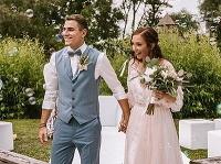 David Gránský sa oženil po 10 rokoch známosti.
