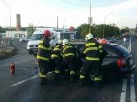Vážna dopravná nehoda v Lučenci
