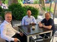 Dnes Michal Truban s Mirom Beblavým a Andrejom Kiskom rokovali o možnostiach spolupráce Progresívneho Slovenska, SPOLU - občianska demokracia a Za ľudí.