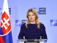 Prezidentka SR Zuzana Čaputová návštevy v sídle Severoatlantickej aliancie (NATO)